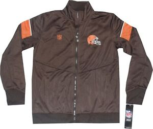 Cleveland Browns Youth Outerstuff Team Apparel Track Jacket Boys 8-20 $55.00