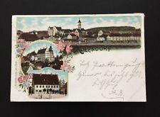 Postkarte Gruß aus Aulendorf 1898 !