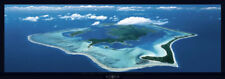 Bora Bora Panorama Photo Thick Cardstock Poster 37x13