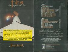 RARE / FES ( MAROC ) : FESTIVAL DE FES ( 2 CD ) / NEUF EMBALLE - NEW & SEALED