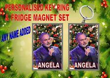 Neil Diamond Key Ring & Fridge Magnet Gift Set Secret Santa Gift