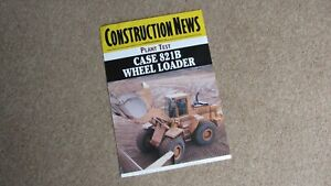 CONSTRUCTION NEWS (PLANT TEST) CASE 821B WHEEL LOADER SEPT 1994