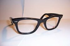 NEW Ray Ban RB RX 5121 RB5121 Black RX5121 2000 50mm AUTHENTIC