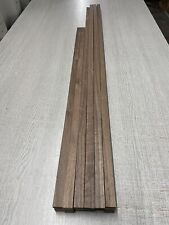 Walnut TImber - Natural Wood- Hardwood 30 Pieces 19 mm X 6 mm X 750-1050 mm Long