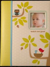 NIB C.R. Gibson Woodland Animal First Year Baby Memory Book for Newborns, 60 pgs