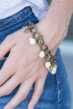 Paparazzi Bracelet - Walk With Nature - White