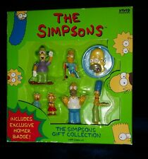 1997 The Simpsons Gift Collection with Exclusive Homer Badge-Official Fox Toy!