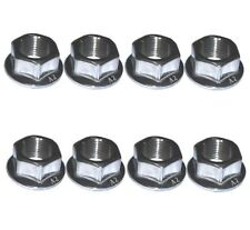 Kawasaki Z1000 KZ1000 Z1R Exhaust Nuts (Pack of 8)