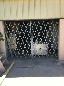 Double Folding Security Gate 10'W x 6'H