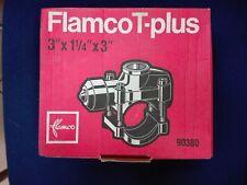 """Flamco T-plus DN 80 Rohrverbindung für Stahlrohre 3"""" x 1 1/4"""" x 3"""""""