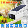 HD 1080P Solar Powered Wifi Wireless Security Camera Waterproof CCTV Surveillan