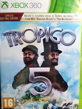 TROPICO 5 EDICION LIMITED DAY ONE. JUEGO XBOX 360. NUEVO, PRECINTADO.