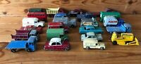 x 22 Vintage Lesney Cars Lorrys Trucks Milk Pickfords Ambulance etc Spare Repair