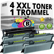 4 xl toner + tambour pour Brother mfc8460n mfc8860dn mfc8860n mfc8860dw hl5270dn2lt