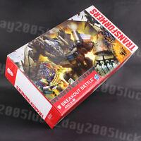 Transformers AOE Platinum Edition BREAKOUT BATTLE Rollbar+Vehicon+Optimus Prime