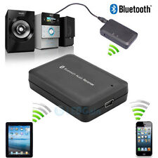 Bluetooth Music Receiver 4.0 Wireless HiFi 3.5mm Stereo Audio Dongle Adapter NEW