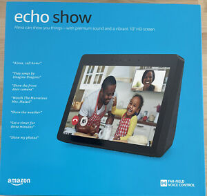 Amazon Echo Show 10 2nd Generation Smart Assistant Charcoal