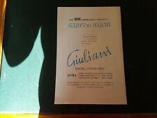 Advertising Italian Pubblicità : GIULIANI Carte da Parati - Roma ( 1967 )