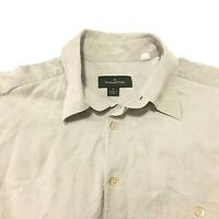 Ermenegildo Zegna Men's Medium Long Sleeve Button Up Shirt