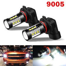 9005 HB3 80W LED Fog Light Bulbs Car Driving Lamp DRL 6000K White High Power NY