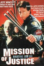Martial Law 3 Mission of Justice - Jeff Wincott - DVD -