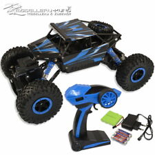 AMEWI Rock Crawler Conqueror Rally Car 1:18 / 4WD / RTR / 2.4 GHz Akku +3AA Blau