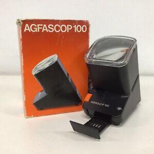 Vintage. Afgascop 100 Electronic Photo Slide Viewer #605