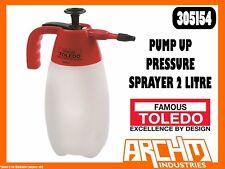 TOLEDO 305154 - PUMP UP PRESSURE SPRAYER 2 LITRE - LIQUIDS SOLVENTS LUBRICANTS