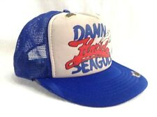 Damn Florida Seagulls Hat Bird Poop Snapback Distressed Trucker Cap 5358931591b7