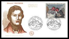France (Honoré DAUMIER) 1966 - FDC Enveloppe premier jour