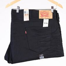 Levi's 501 Original Fit Big & Tall Black Men's Jeans W54 L30