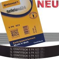 NEU CONTITECH Keilrippenriemen 6PK923 Continental Keilriemen
