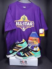 Adidas Attitude Lo NBA G07623 Men Size 11 & NEW NBA All Star Phoenix XL T-Shirt