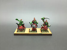 WARHAMMER FANTASY AGE OF SIGMAR ORCS & GOBLINS GOBLIN SQUIG HOPPERS PAINTED