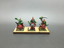 Warhammer Fantasy orcos & goblins edad de Sigmar Duende Squig Tolvas Pintado