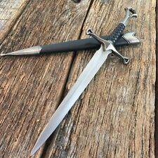 "13"" Stainless Steel Dagger German Style Dagger Knife with Sheath NEW 5017"