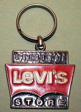 Vintage Keychain, porte clé, Portachiavi, Original Levi´s Store Viseu Portugal