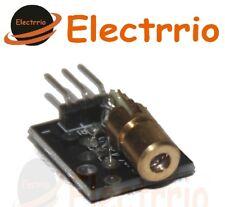 EL0478 Modulo Transmisor LASER 5V Rojo 650 nm 5mW 6mm Diodo Arduino