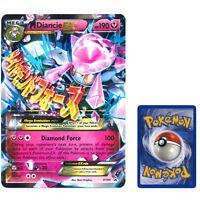 OVERSIZED Mega M Diancie Legendary EX Ultra Rare Holo Pokemon Card Promo XY44