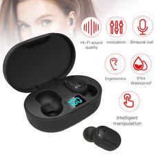 Wireless Headphones Bluetooth Earbuds 5.0 Waterproof Headset Noise Canceling Tws