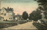 East Windham NY Main St. West c1915 Postcard