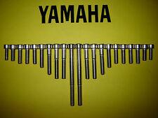 Yamaha FJ1100 FJ1200 SS Stainless Engine Cover Cap Allen Screw Kit 84 to 93 New