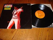 "ELVIS PRESLEY   ""Elvis Now""   Orange Label Dynaflex"