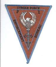 **ENFORCEMENT BUREAU STRIKE FORCE PATCH**