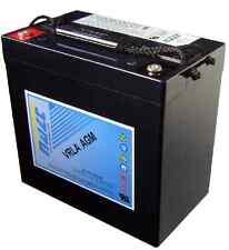 Batteria AGM HZB12-55 12V 55A HAZE per UPS e Impianto Solare Fotovoltaico