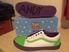 Rare Toy Story Vans Buzz Lightyear Old Skool - UK SIZE 8 - New With Box