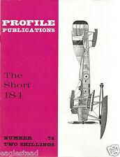 Aircraft Monograph - Short - 184 - Profile Facts Summary (MN133)