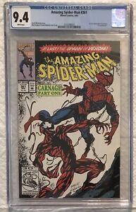 Amazing Spiderman #361 CGC 9.4 WP