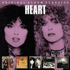 HEART - ORIGINAL ALBUM CLASSICS 5 CD NEU