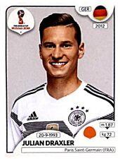 Panini Fifa World Cup 2018 Russia Sticker 440 Julian Draxler Deutschland Germany